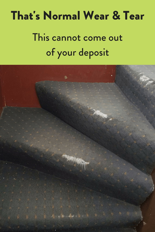 Security Deposit and Damages to a Rental