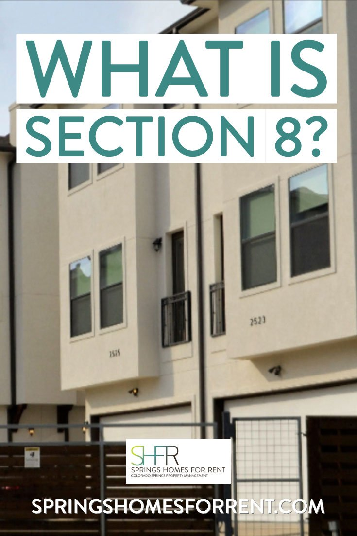 What is Section 8?